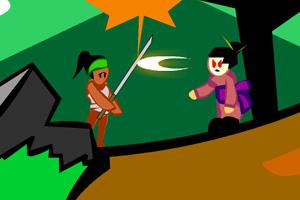 《抽象忍者》游戏画面1