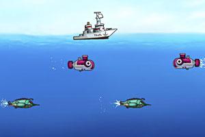 《阻击外星潜艇2》游戏画面1
