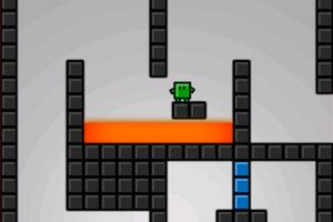 《绿方块极限冒险》游戏画面1