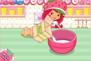《草莓蛋糕》游戏画面1