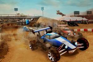 《超级四驱车赛》游戏画面1