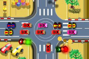 《指挥交通红绿灯》游戏画面1