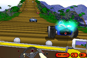 《赛车台阶越野3无敌版》游戏画面1