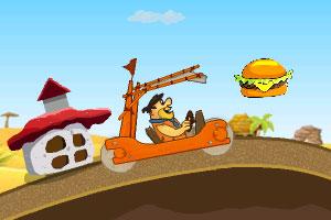 《大叔开车收集汉堡》游戏画面1