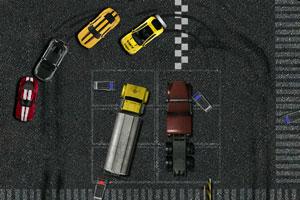 停车场赛车