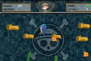 《男孩捕鱼》游戏画面1