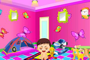 《布置宝宝的屋子》游戏画面1