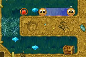 《变形球夺宝》游戏画面1