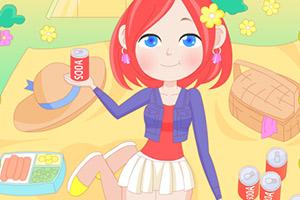 《去野餐的少女》游戏画面1