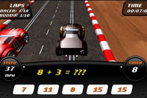 《数学小天才赛车》截图1