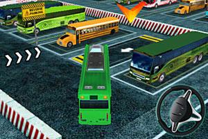 《3D巴士停车》游戏画面1