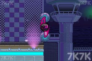 《双人旋转赛车选关版》游戏画面3