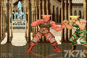 《街头霸王》游戏画面2