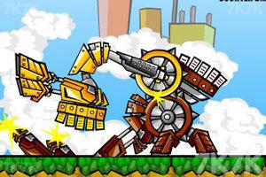 《機器人大決斗》游戲畫面2