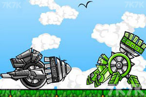 《機器人大決斗》游戲畫面1