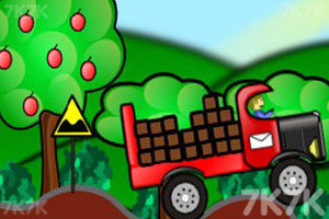 《货车送货》游戏画面1