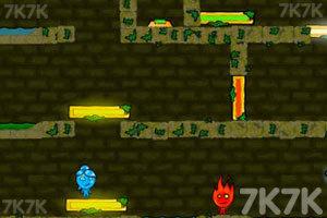 《森林冰火人3山寨版》游戏画面8