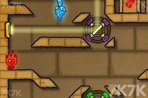 《森林冰火人2无敌版》游戏画面9