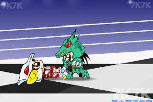 《决斗!天龙对天马》游戏画面2