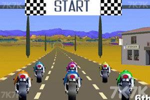 《急速摩托赛》游戏画面1