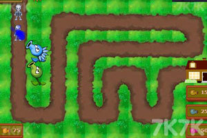《植物大战僵尸塔防版》游戏画面3