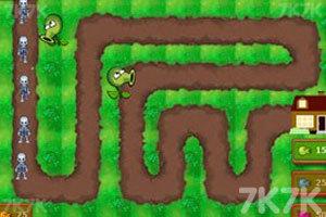 《植物大战僵尸塔防版》游戏画面1