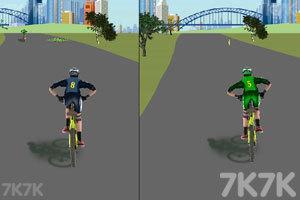 《双人自行车对战》截图3