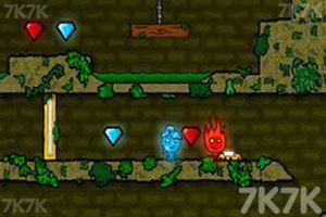 《森林冰火人》游戲畫面1