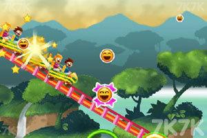 《彩虹过山车》游戏画面5