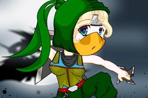 《帅气女忍者》游戏画面1