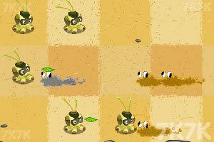 《植物大战沙暴》游戏画面2