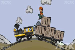《装卸运煤火车》游戏画面1