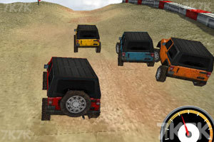 《3D吉普车越野赛》游戏画面2