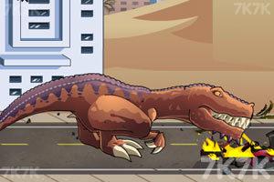 《恐龍大戰火箭車》游戲畫面9