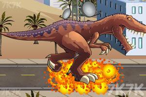 《恐龍大戰火箭車》游戲畫面6