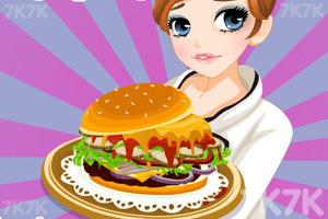 《泰莎做漢堡》游戲畫面1
