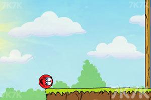 《小红球闯关3夺爱》游戏画面4