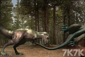 《恐龙格斗》游戏画面5