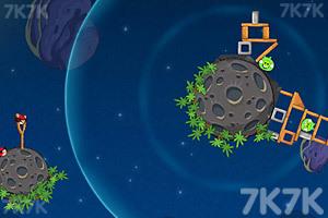 《愤怒的小鸟太空版HD》游戏画面9