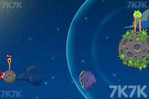 《愤怒的小鸟太空版HD》游戏画面2