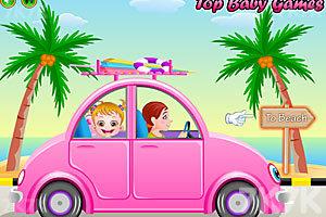 《可爱宝贝游沙滩》游戏画面4