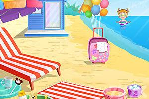 《可爱宝贝游沙滩》游戏画面10