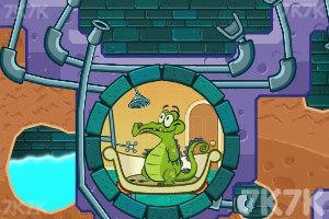 《鱷魚小頑皮愛洗澡中文版》截圖2