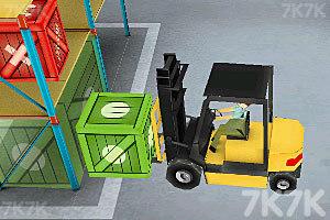 《3D仓库叉车》游戏画面8