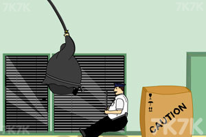 《胖忍者打保安》游戏画面1