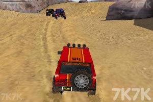 《3D峡谷四驱车》游戏画面4