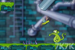 《小鳄鱼寻鸭历险》游戏画面8