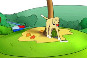 《养只小狗狗》游戏画面1