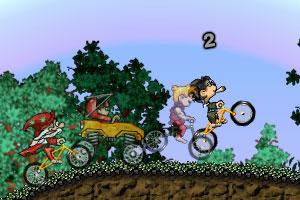 《疯狂单车争霸赛2》游戏画面1