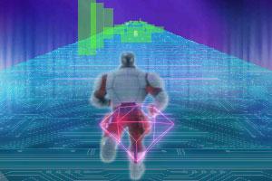 《机器人跑酷》游戏画面1